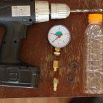 Flaschenmanometer Werkzeug